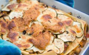 vegane ratatouille lasagne