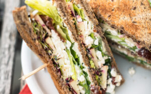 veganes Club-Sandwich