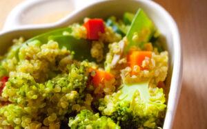 gemuese mit quinoa
