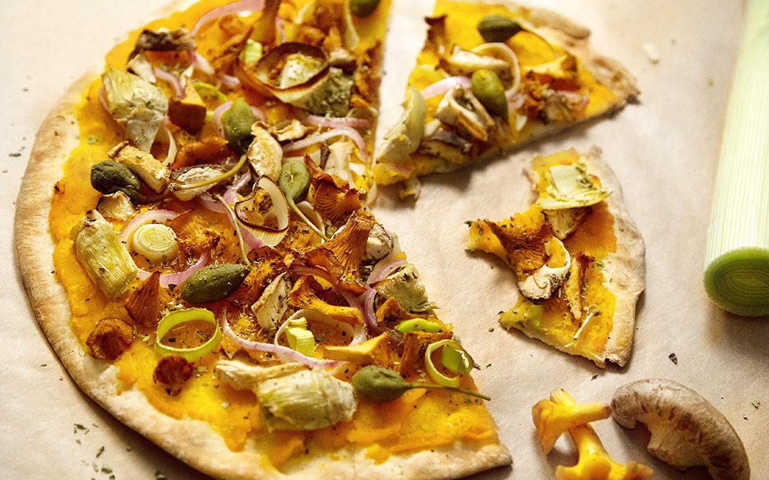 Herbstpizza
