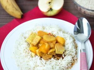veganes Früchte-Curry