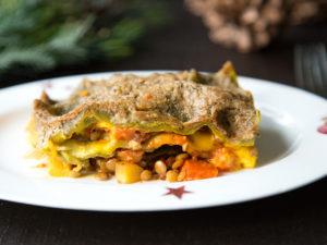 vegane Kürbis-Lasagne
