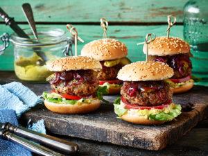 vegane mini-burger
