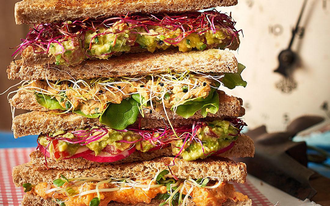 Sandwich-Turm