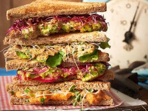 vegane sandwiches