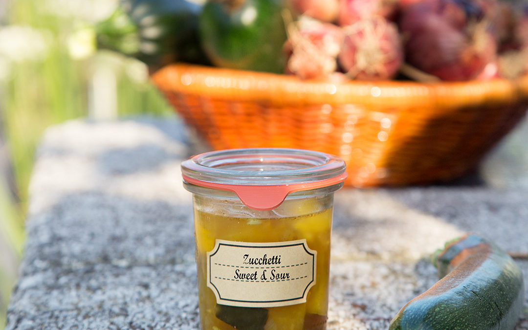 Zucchetti Sweet & Sour