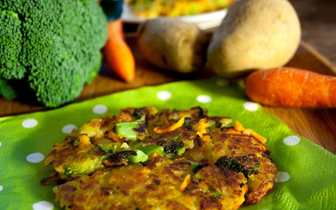 Gemüse-Rösti
