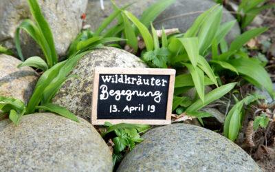 Wildkräuterbegegnung Frühling 2019